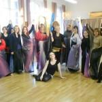 Stage à Santes invitée par l'association Laur'ient Voile technique et chorégraphie