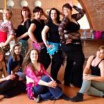 Stage à Etaples invitée par l'association Lyha orient'n'art - Chorégraphie pop