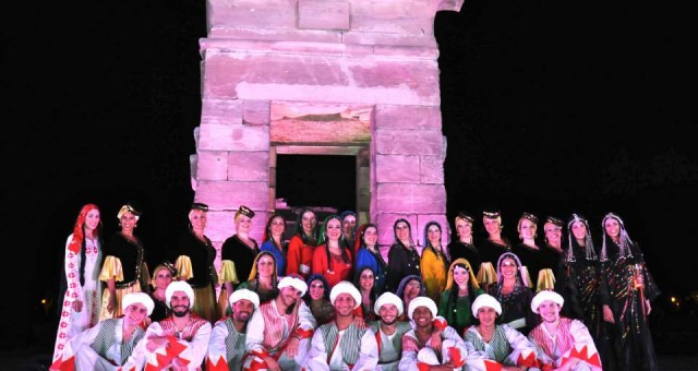 «Immerse yourself in Egypt» Making of du spectacle à Madrid Compagnie Al Andalus