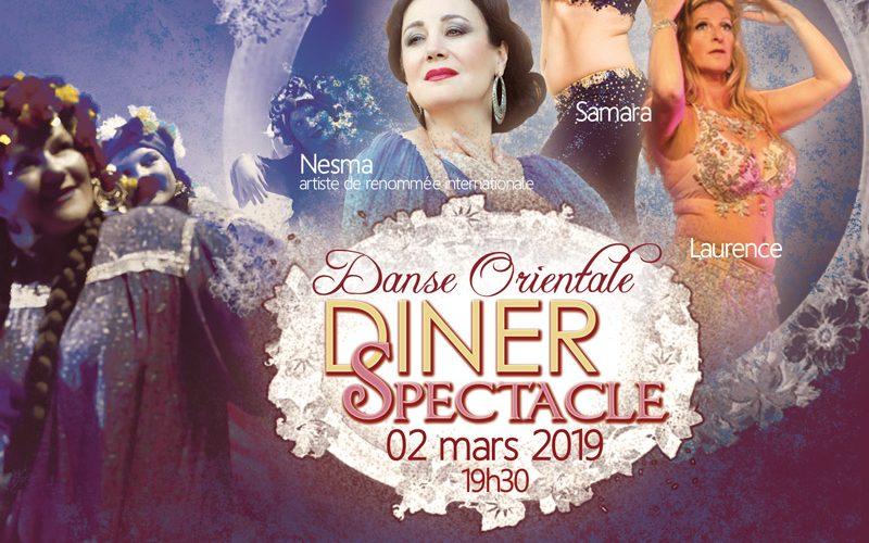 Diner spectacle le samedi 2 mars 2019